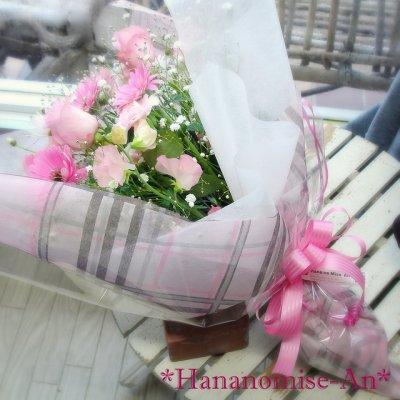 画像2: 花束M*ピンク系