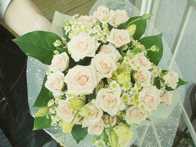 画像3: ヒマワリを入れた花束M*ビタミンxミント