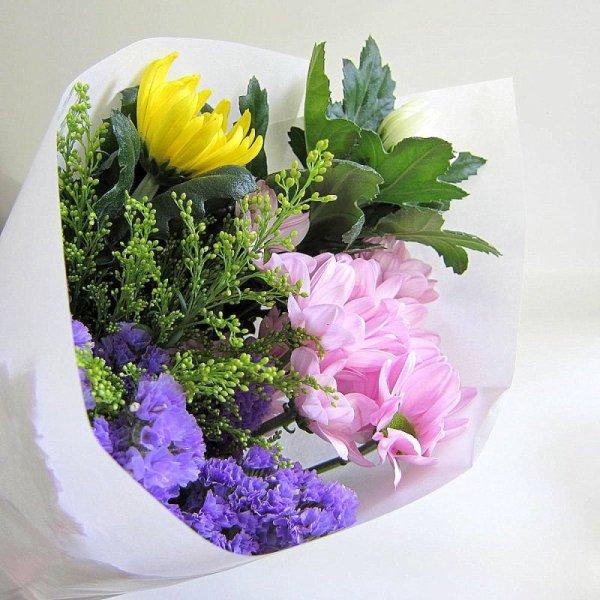 画像1: 【店頭予約】献花用 ご供花 (1)