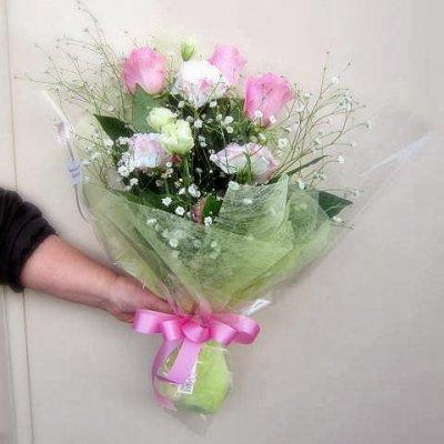 画像1: ピンク系*おまかせ花束☆カンタン注文