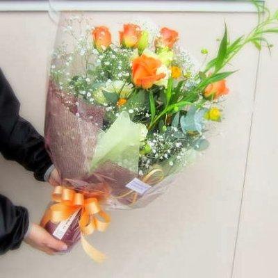 画像2: 黄オレンジ系*おまかせ花束☆カンタン注文