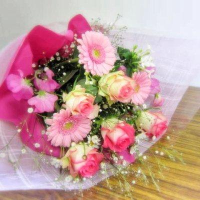 画像2: ピンク系*おまかせ花束☆カンタン注文