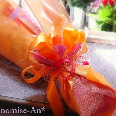 画像2: 花束L*オレンジ系